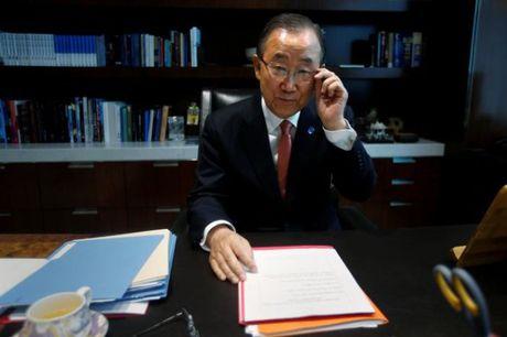 Tong thu ky LHQ Ban Ki-moon xem xet viec tranh cu tong thong Han Quoc - Anh 1