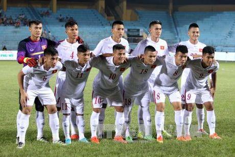 "Tuyen Viet Nam va ""khe cua hep"" Bahrain tai VCK U19 chau A - Anh 1"