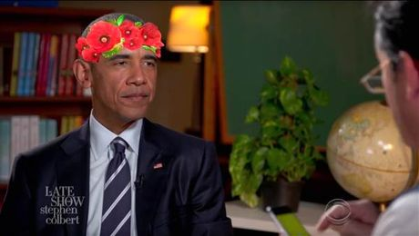 TT Obama 'tap' phong van xin viec va cuoc song khi roi Nha Trang - Anh 1