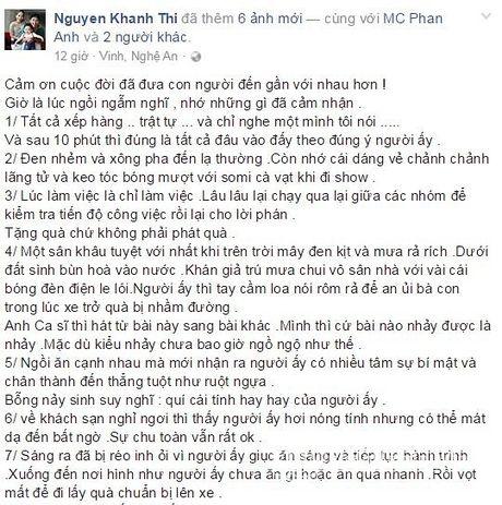Khanh Thi bat ngo 'ke xau' ve Phan Anh sau khi di tu thien cung nhau - Anh 2