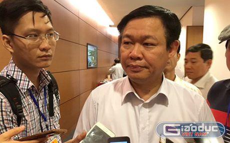 Pho Thu tuong Vuong Dinh Hue: 'Dut khoat khong noi tran no cong' - Anh 1
