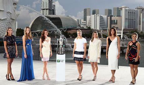 7 dai my nu khoe sac truoc them WTA Finals - Anh 1