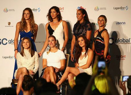7 dai my nu khoe sac truoc them WTA Finals - Anh 6