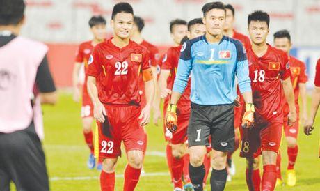 U19 Viet Nam san sang doi dau voi Bahrain - Anh 1
