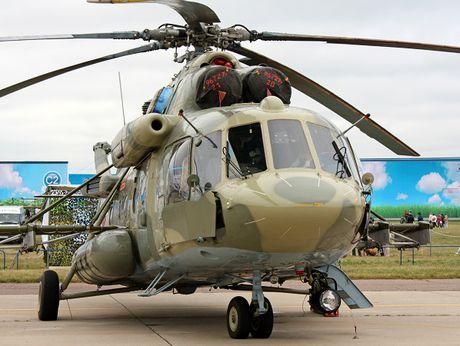 Nga ban giao 2 truc thang Mi-8MTV-5-1 cho Belarus - Anh 1