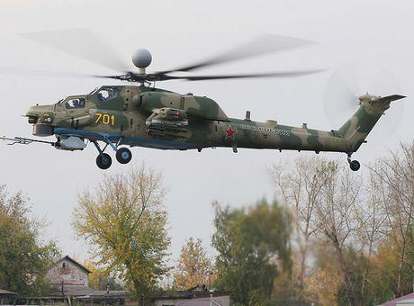 Truc thang Mi-28NM nang cap cua Nga se co ten lua tam xa moi - Anh 1