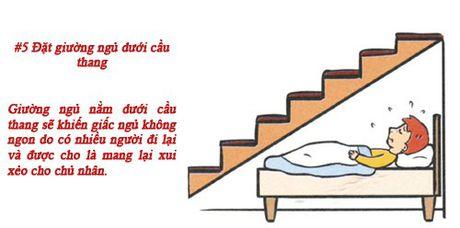 Sai lam trong phong thuy phong ngu gay hai den suc khoe chu nhan - Anh 6