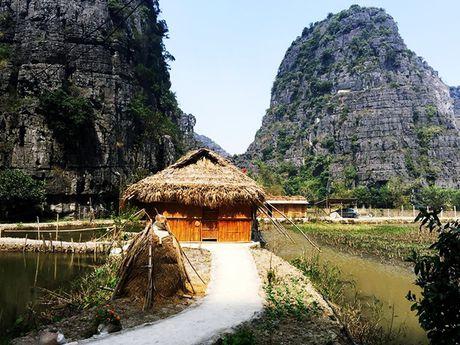 Homestay nam giua ho sen o Ninh Binh - Anh 1