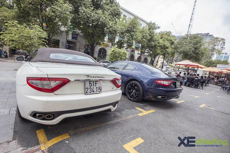 Dan xe quy toc Maserati giao luu cuoi tuan tai Saigon Coffee Club - Anh 10