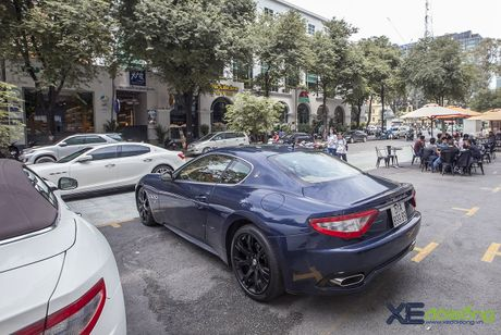 Dan xe quy toc Maserati giao luu cuoi tuan tai Saigon Coffee Club - Anh 11