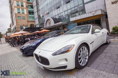 Dan xe quy toc Maserati giao luu cuoi tuan tai Saigon Coffee Club - Anh 3