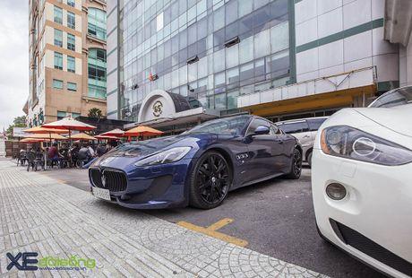 Dan xe quy toc Maserati giao luu cuoi tuan tai Saigon Coffee Club - Anh 4