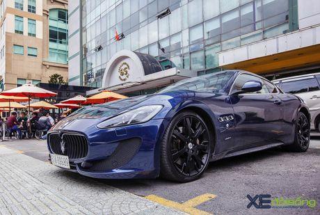 Dan xe quy toc Maserati giao luu cuoi tuan tai Saigon Coffee Club - Anh 5