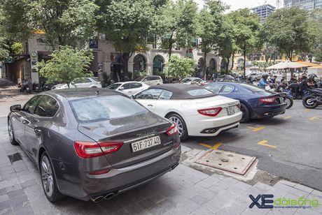 Dan xe quy toc Maserati giao luu cuoi tuan tai Saigon Coffee Club - Anh 9