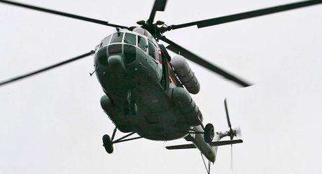 Nga: Truc thang Mi-8 roi tai Siberia , 21 nguoi thiet mang - Anh 1