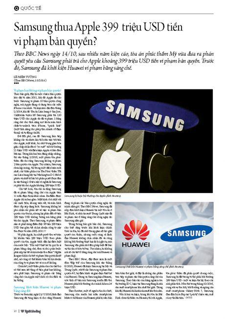 Samsung thua Apple 399 trieu USD tien vi pham ban quyen? - Anh 3