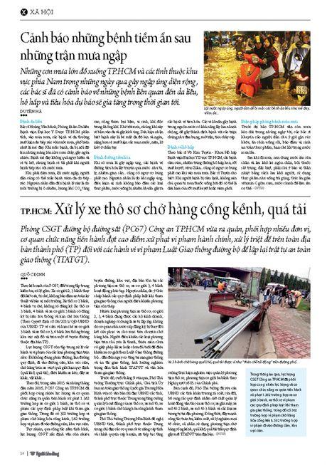TP.HCM: Xu ly xe tho so cho hang cong kenh, qua tai - Anh 2