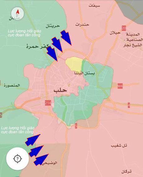 Chien su Syria: Phien quan don binh chuan bi pha vong vay Aleppo - Anh 1