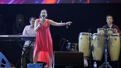 Diva My Linh chinh phuc khan gia voi nhung ban hit dinh dam - Anh 1
