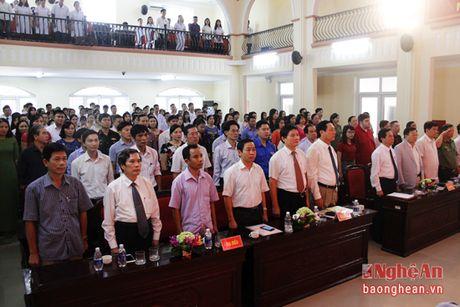 Gan 1.500 tan sinh vien Dai hoc Y khoa Vinh don chao nam hoc moi - Anh 2