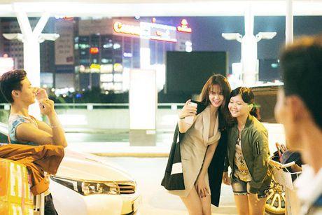 Ngoc Trinh dep hut hon giua mua thu Han Quoc - Anh 2
