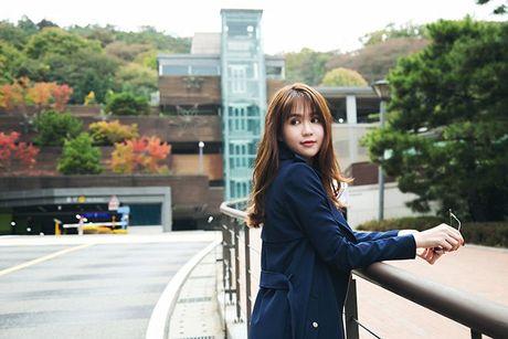 Ngoc Trinh dep hut hon giua mua thu Han Quoc - Anh 8
