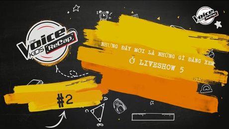 Truoc Liveshow 6 toi nay, cung nhin lai nhung khoanh khac dep nhat cua The Voice Kids tuan qua! - Anh 2