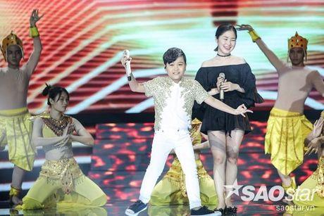 Phuong Thanh xuat hien voi mai dau troc, Hong Nhung dua 2 con di tong duyet Liveshow 6 - Anh 10