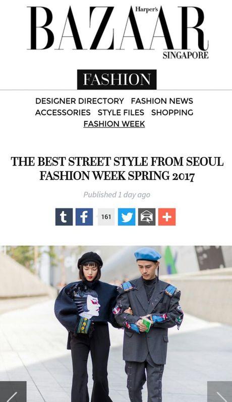 Seoul Fashion Week 2017 - nam dai thang cua cac stylist va tin do thoi trang Viet - Anh 12