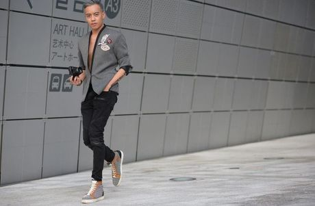 Seoul Fashion Week 2017 - nam dai thang cua cac stylist va tin do thoi trang Viet - Anh 6