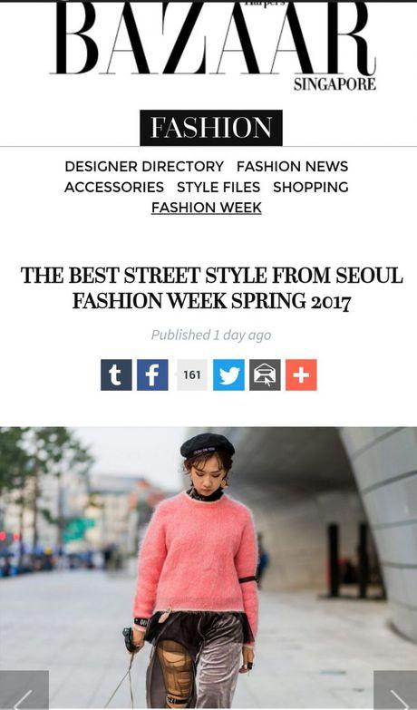 Seoul Fashion Week 2017 - nam dai thang cua cac stylist va tin do thoi trang Viet - Anh 9