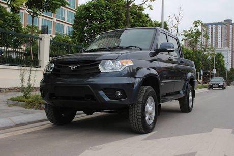 UAZ Pickup, xe ban tai re nhat tai Viet Nam - Anh 1