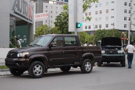 UAZ Pickup, xe ban tai re nhat tai Viet Nam - Anh 3