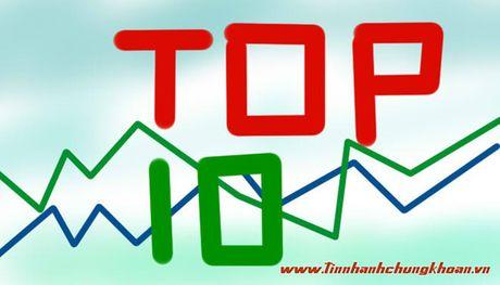 Top 10 co phieu tang/giam manh nhat tuan: ROS van tiep tuc tang nong - Anh 1