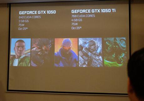 Nvidia ra mat hai card do hoa tam trung GTX 1050 va GTX 1050Ti - Anh 2