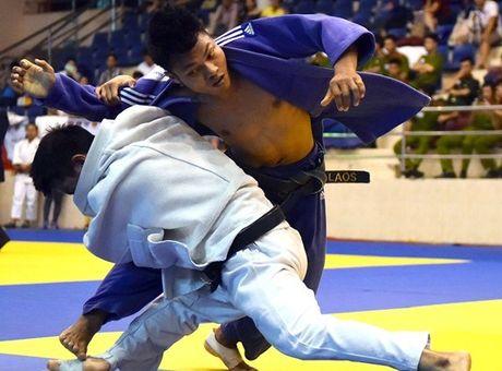 186 VDV du giai judo quoc te Viet Nam 2016 - Anh 1
