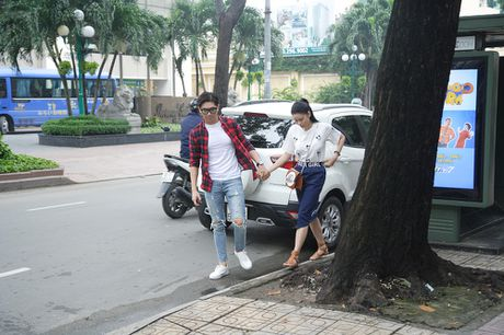 Tim - Truong Quynh Anh tinh tu trong buoi doc kich ban - Anh 1