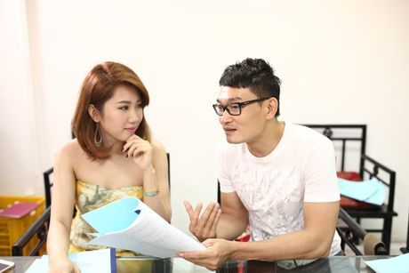 Tim - Truong Quynh Anh tinh tu trong buoi doc kich ban - Anh 5