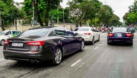 Dan xe sang Maserati xuat hien o trung tam Sai Gon - Anh 10