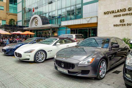 Dan xe sang Maserati xuat hien o trung tam Sai Gon - Anh 1