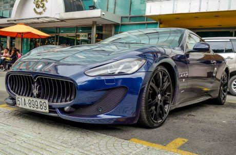 Dan xe sang Maserati xuat hien o trung tam Sai Gon - Anh 3
