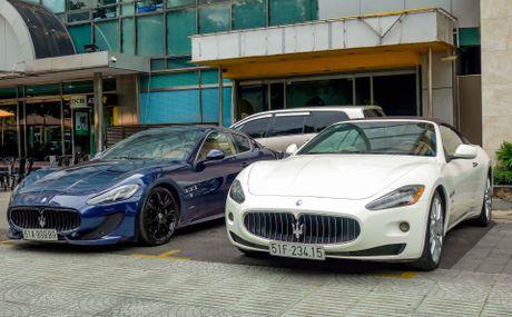 Dan xe sang Maserati xuat hien o trung tam Sai Gon - Anh 5