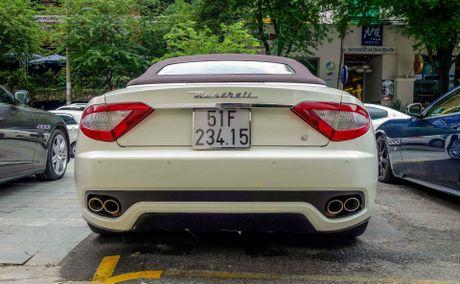 Dan xe sang Maserati xuat hien o trung tam Sai Gon - Anh 6