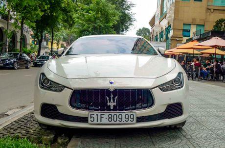 Dan xe sang Maserati xuat hien o trung tam Sai Gon - Anh 7