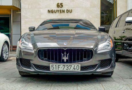 Dan xe sang Maserati xuat hien o trung tam Sai Gon - Anh 8