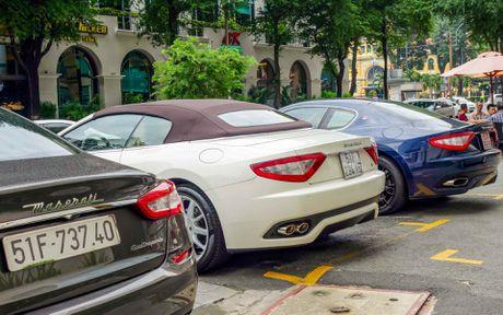 Dan xe sang Maserati xuat hien o trung tam Sai Gon - Anh 9