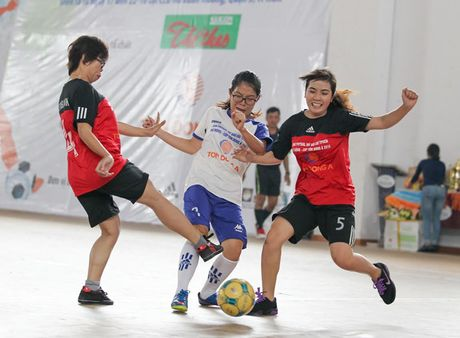 Giai Futsal nu bao chi: Cup ve tay khach moi - Anh 1