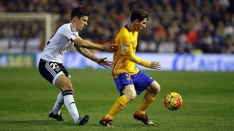 Valencia 0-1 Barca: Trong tai tang ban thang cho Messi (H1) - Anh 1