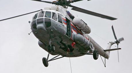 Truc thang Mi-8 roi tai Nga, 19 nguoi thiet mang - Anh 1