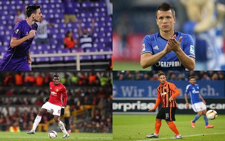 DHTB luot tran thu ba vong bang Europa League: Vinh danh Pogba - Anh 1